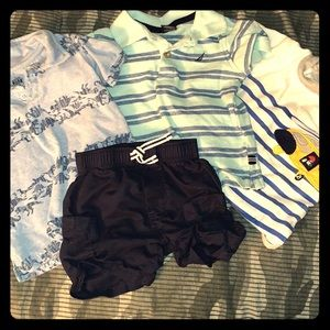 12 Month 4 piece lot Nautica, Kids HQ and Carters